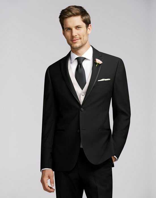 Men's Wearhouse Calvin Klein Framed Edge Tuxedo Wedding Tuxedos + Suit photo