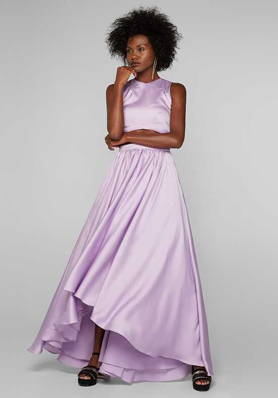 Fame and Partners Bridesmaid Belle Two Piece V-Neck Bridesmaid Dress