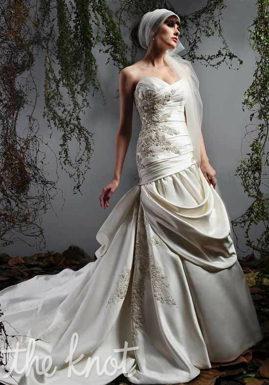 Eden Bridals 2415 A-Line Wedding Dress