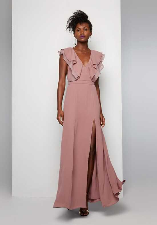 Fame and Partners Bridesmaid Olsen V-Neck Bridesmaid Dress
