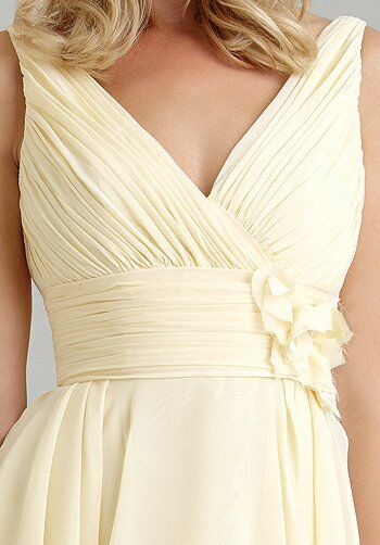 Allure Bridesmaids 1313 V-Neck Bridesmaid Dress