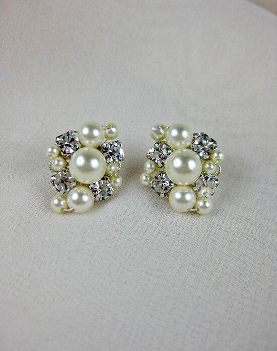 Everything Angelic Angelica Post Earrings - e352 Wedding Earring photo