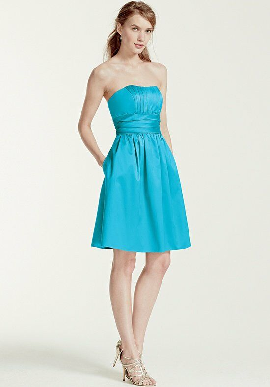 David's Bridal Collection David's Bridal Style 83312 Strapless Bridesmaid Dress
