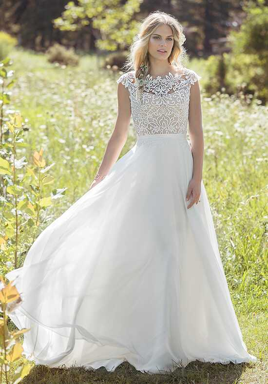Lillian West 6493 A-Line Wedding Dress