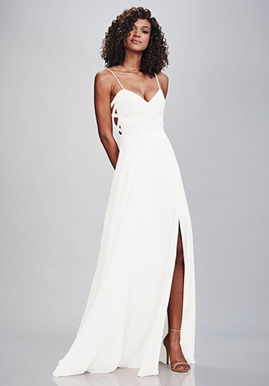 THEIA Bridesmaids Melanie Bateau Bridesmaid Dress