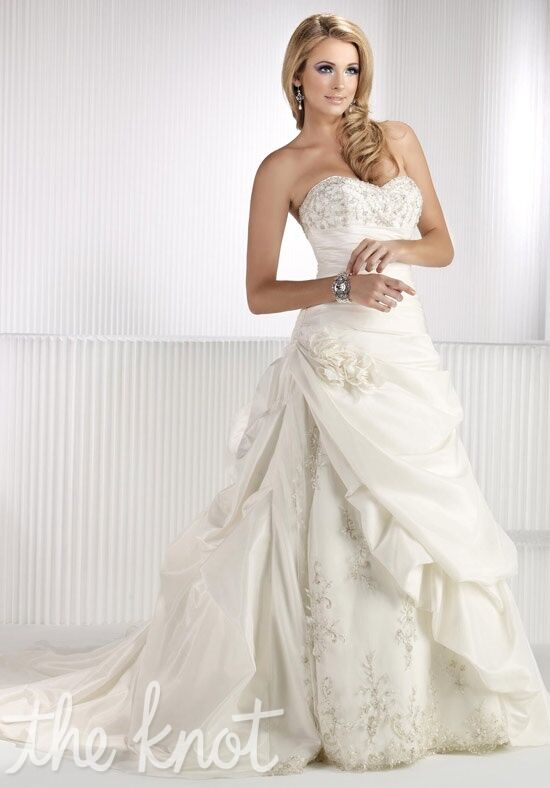Kenneth Winston 1414 A-Line Wedding Dress