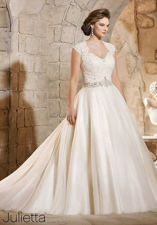 Morilee by Madeline Gardner/Julietta 3185 Ball Gown Wedding Dress