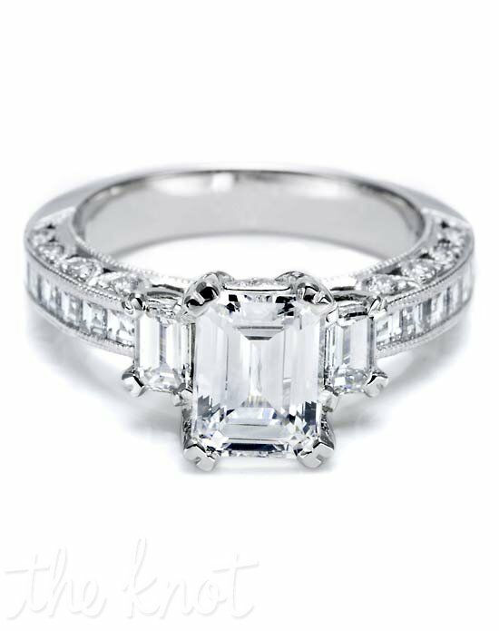 Tacori HT 2273 SM 1/2X Platinum Wedding Ring