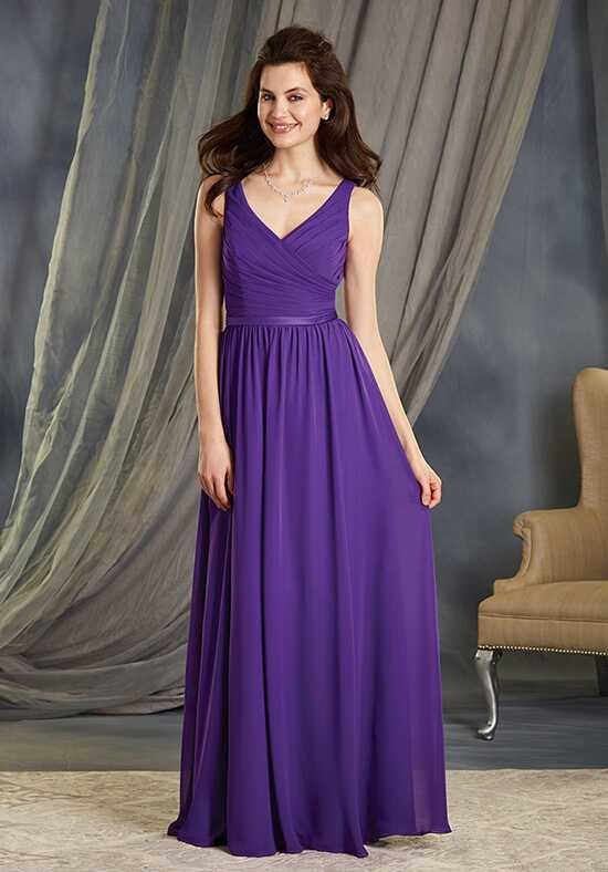 Alfred Angelo Signature Bridesmaids Collection 7363L V-Neck Bridesmaid Dress