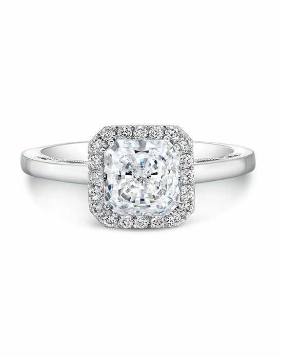 Forevermark Diamonds IDEAL SQUARE ENGAGEMENT RING/FM27153 Engagement Ring photo