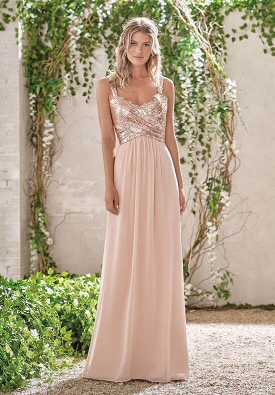 B2 by Jasmine B193005 Sweetheart Bridesmaid Dress