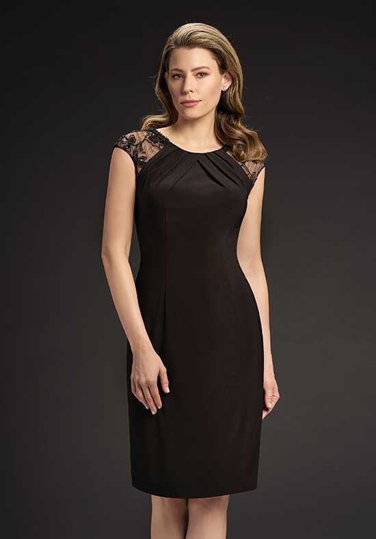 Jasmine Black Label M190051 Black Mother Of The Bride Dress