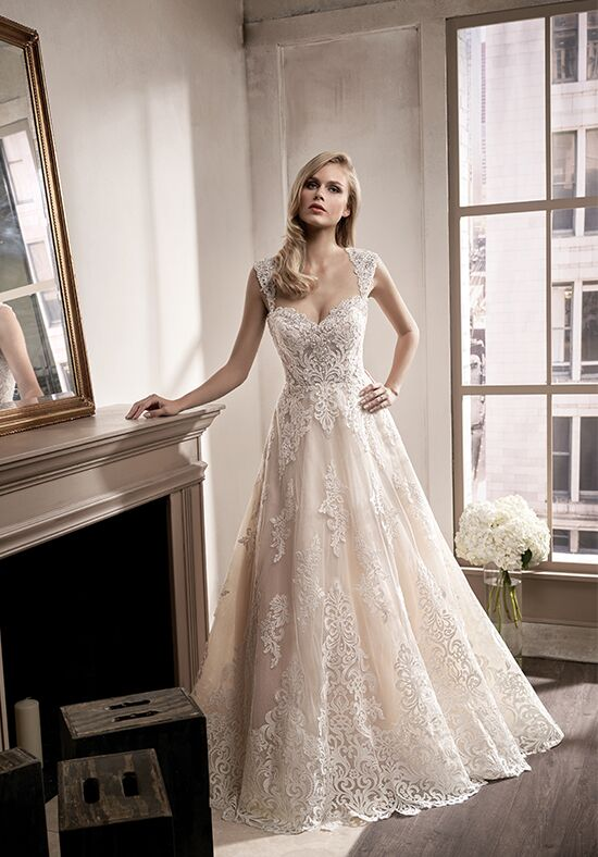 Jasmine Couture T192016 A-Line Wedding Dress