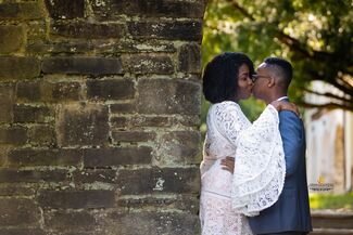 Aundré Cuffy And Leah Smith Wedding Photo 1