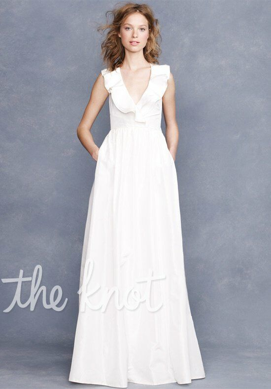 J. Crew Weddings & Parties Kira Gown A-Line Wedding Dress