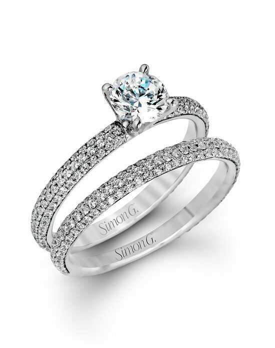 simon g jewelry - Round Wedding Rings