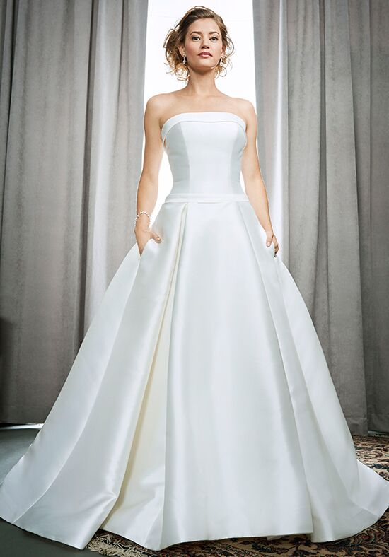 Square Wedding Dresses