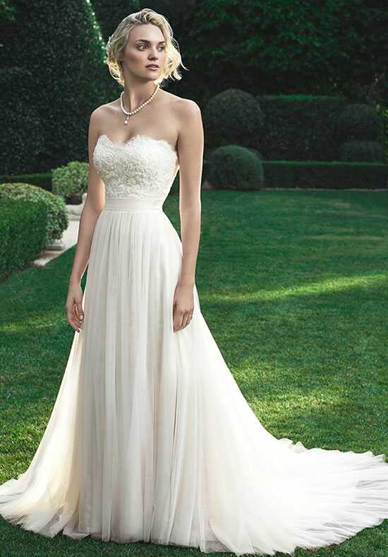 Casablanca Bridal 2205 A-Line Wedding Dress