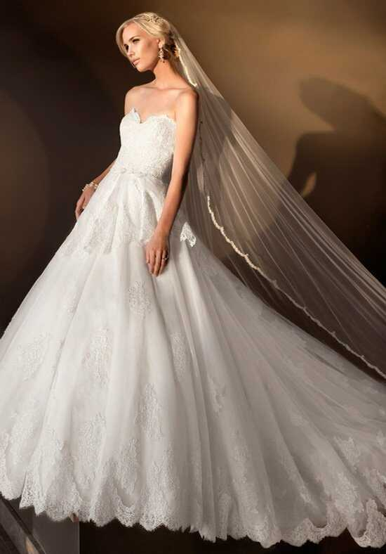 Essense of Australia D1410 Ball Gown Wedding Dress