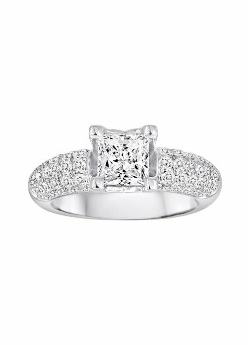 The Vow DFWR0381PD15W Wedding Ring The Knot