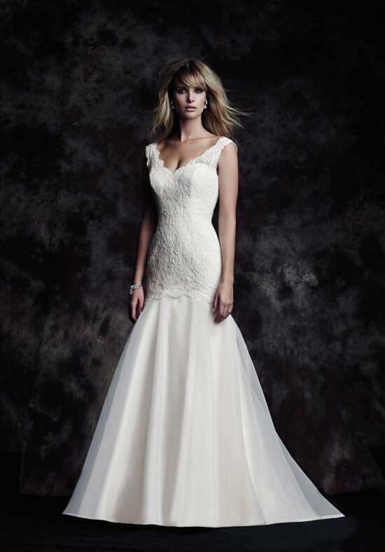 Paloma Blanca 4615 Wedding Dress photo