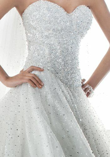 Demetrios 536 Ball Gown Wedding Dress