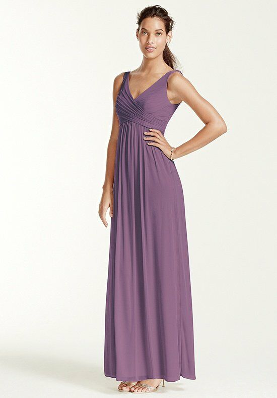 David's Bridal Collection David's Bridal Style F15933 V-Neck Bridesmaid Dress