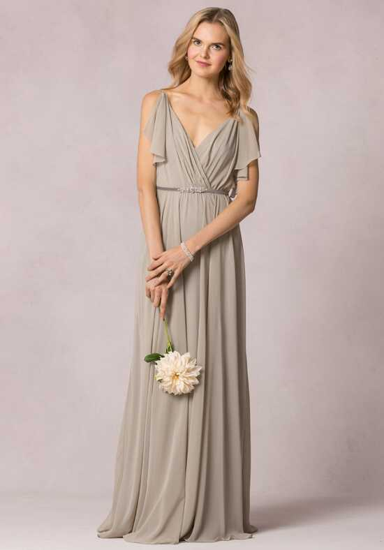 Jenny Yoo Collection (Maids) Cassie V-Neck Bridesmaid Dress