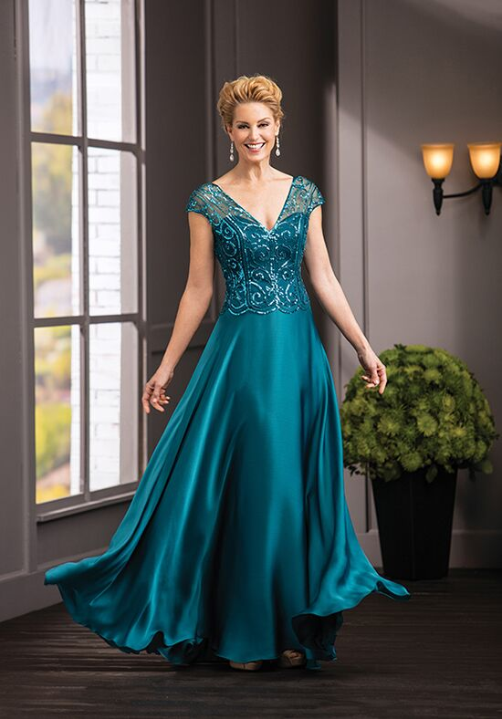 Jade Couture K188056 Green Mother Of The Bride Dress