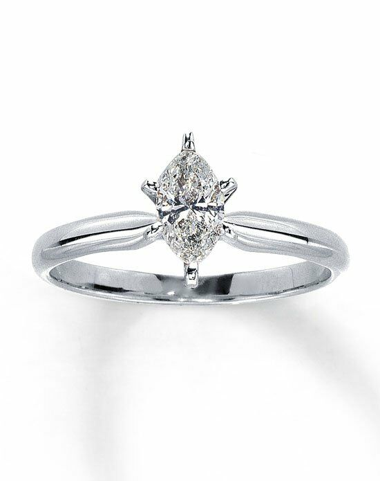 Kay Jewelers Diamond Solitaire Ring 1 2 Ct Marquise 14k