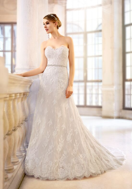 Moonlight Couture H1314 A-Line Wedding Dress