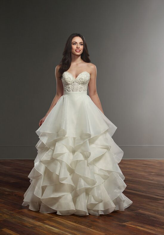 Martina Liana Circe + Skylar Ball Gown Wedding Dress
