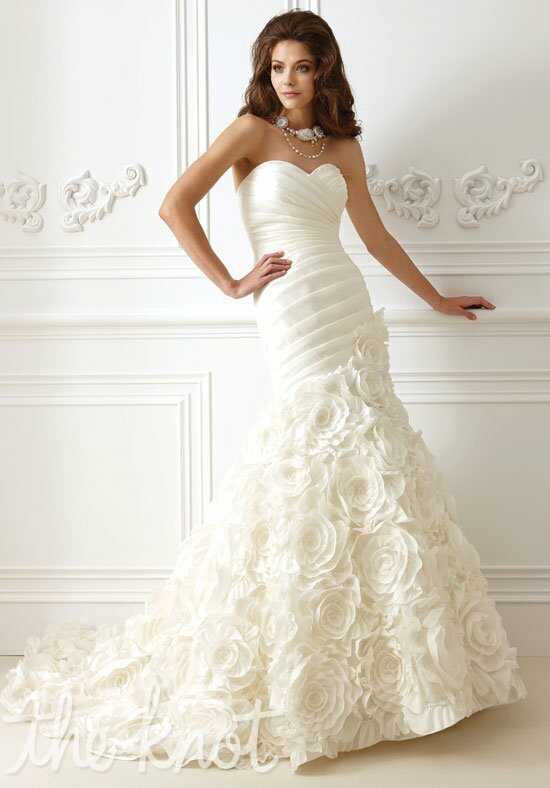 Jasmine Collection F473 Mermaid Wedding Dress