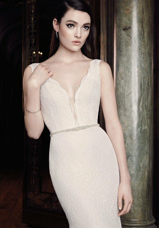 Mikaella 2016 Sheath Wedding Dress