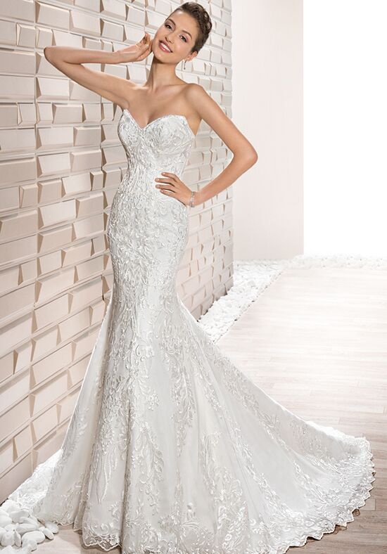 Demetrios 712 Mermaid Wedding Dress