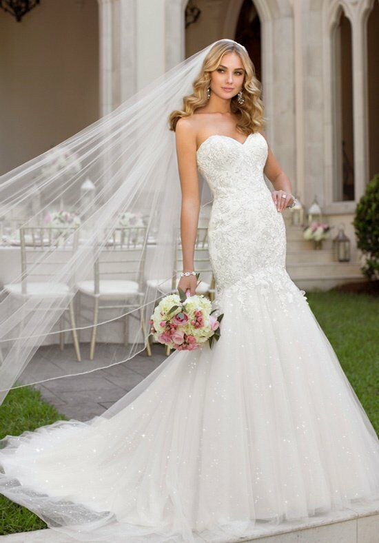 Stella York 5901 Mermaid Wedding Dress