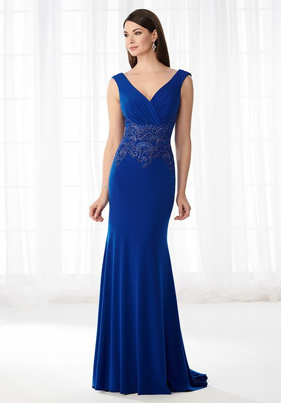 Cameron Blake 218607 Blue Mother Of The Bride Dress