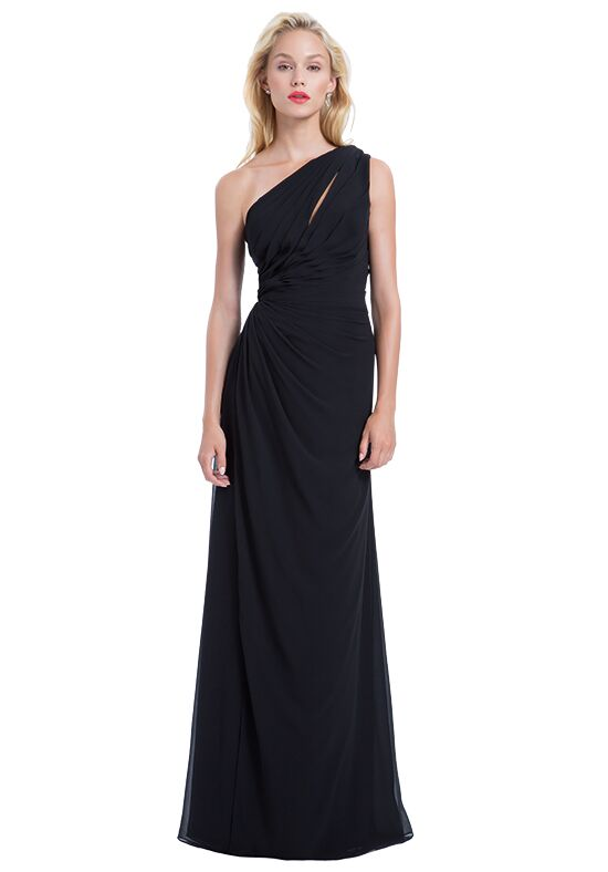 Bill Levkoff 1178 One Shoulder Bridesmaid Dress