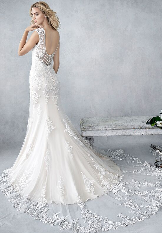 Kenneth Winston: Ella Rosa Collection BE445 Wedding Dress - The Knot