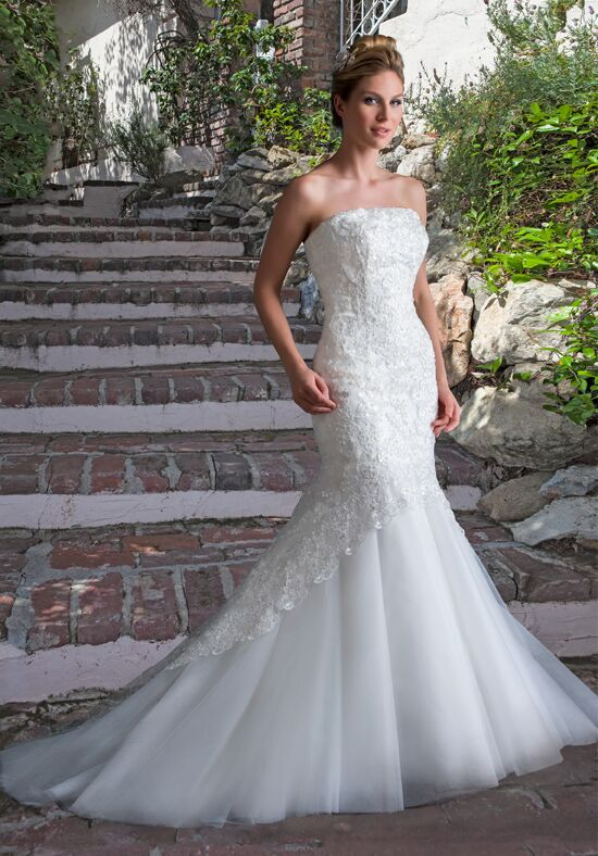 1 Wedding by Mary's Bridal 6525 Mermaid Wedding Dress