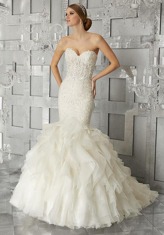 Organza and Lace Wedding Dress