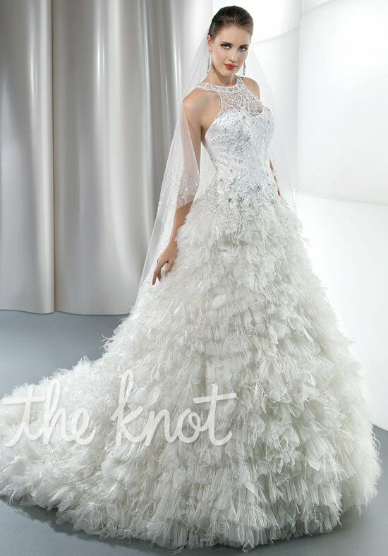 Demetrios 535 Ball Gown Wedding Dress