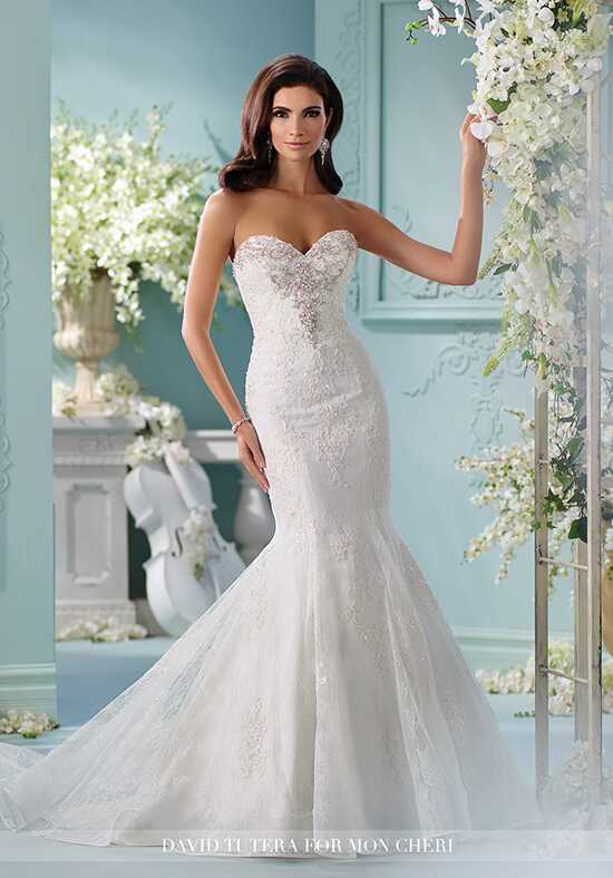 David Tutera for Mon Cheri 216253 Marina Wedding Dress photo
