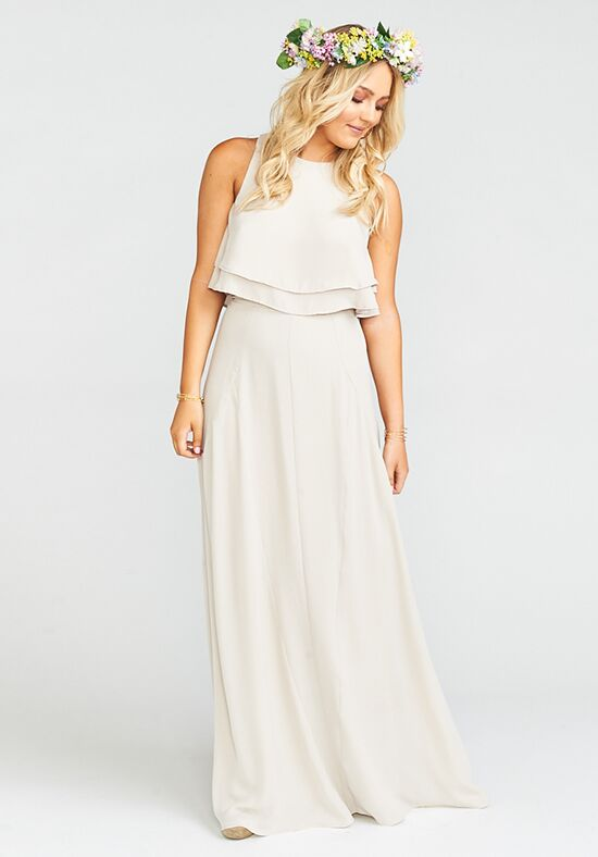 Show Me Your Mumu Princess Di Ballgown - Show Me the Ring Crisp Square Bridesmaid Dress