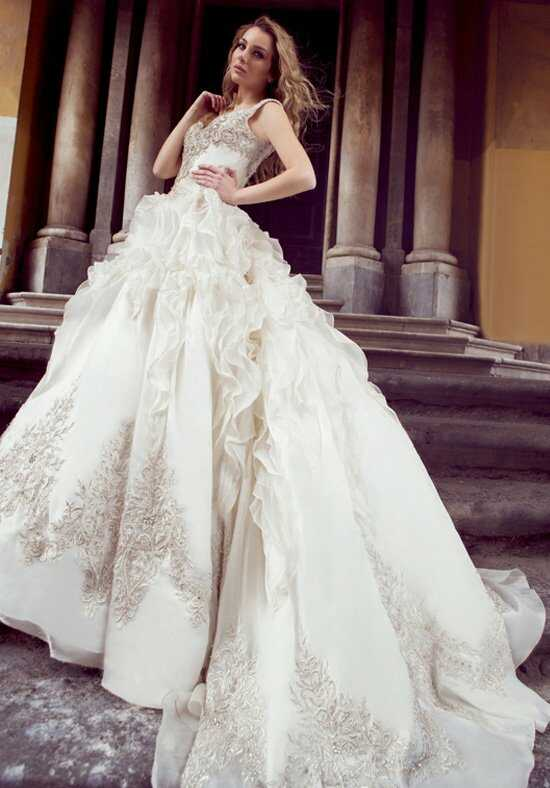 Ysa Makino KYM58 Ball Gown Wedding Dress