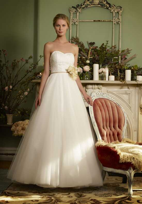 Robert Bullock Bride Sage Ball Gown Wedding Dress