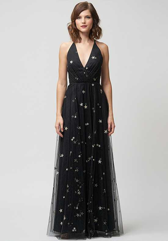 Jenny Yoo Collection (Maids) Chelsea Starry Night V-Neck Bridesmaid Dress