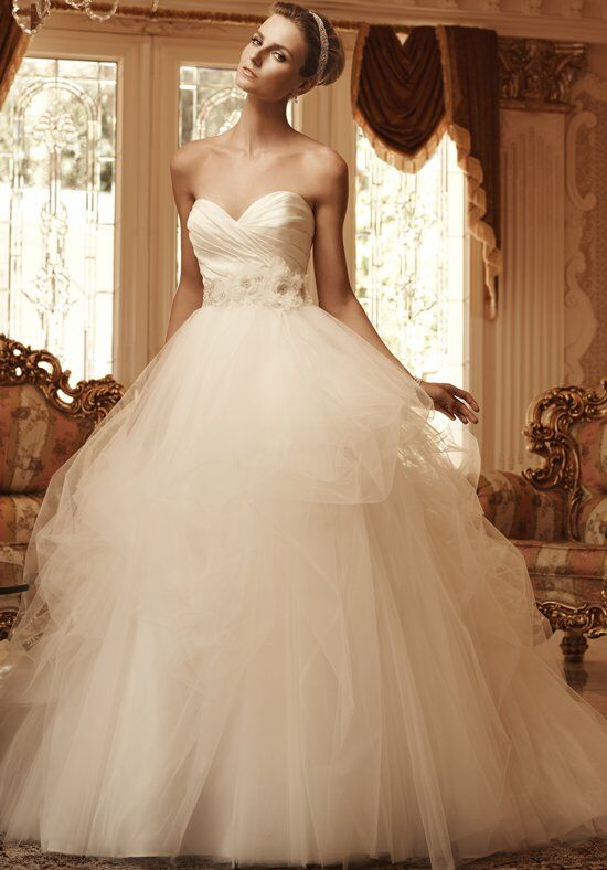 Casablanca Bridal 2103 Ball Gown Wedding Dress