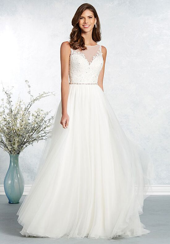Alfred Angelo Signature Bridal Collection 2631 & 2637 A-Line Wedding Dress