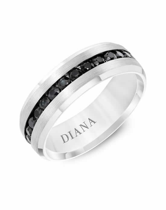 Diana 22-N8771W100 Gold Wedding Ring